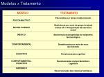 modelos x tratamento