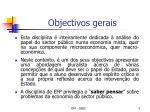 objectivos gerais