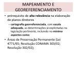 mapeamento e georeferenciamento