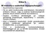 etika ii