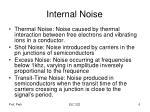 internal noise