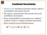 combined uncertainty
