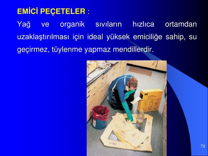 EMİCİ PEÇETELER