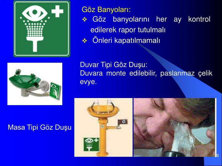 Göz Banyoları: