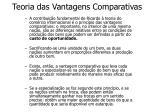 teoria das vantagens comparativas1