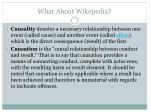 what about wikepedia