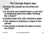 the carnegie report says