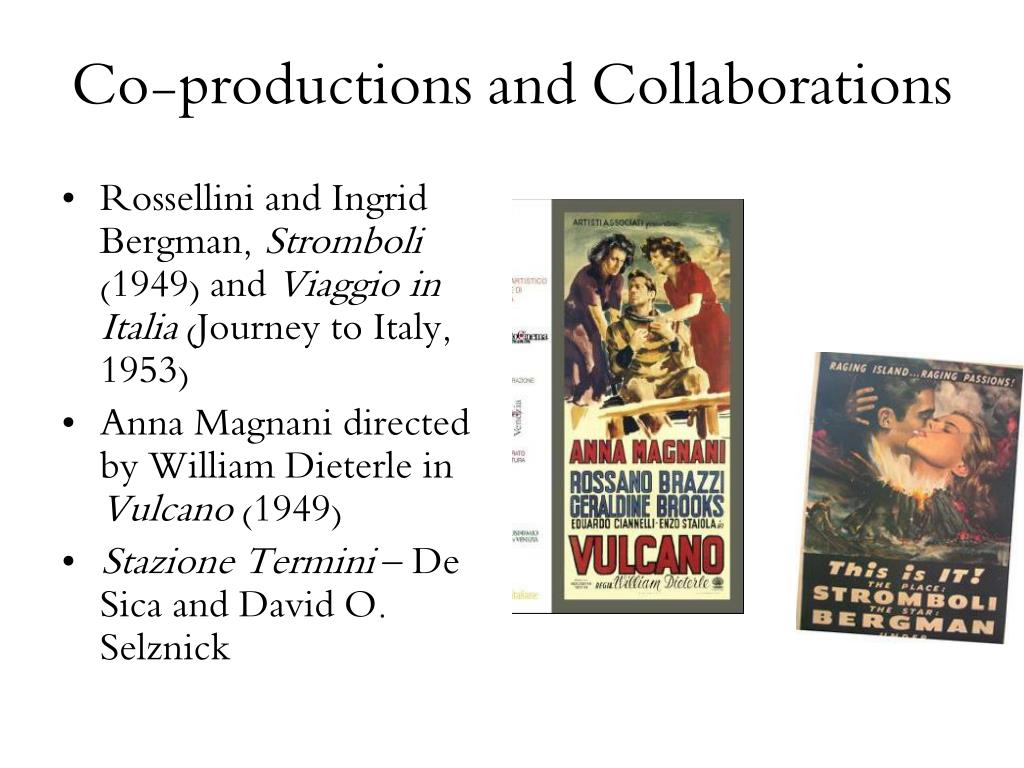 Co-productions and Collaborations