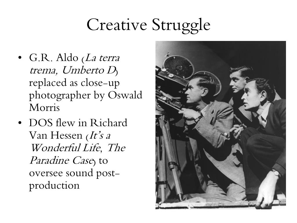 Creative Struggle