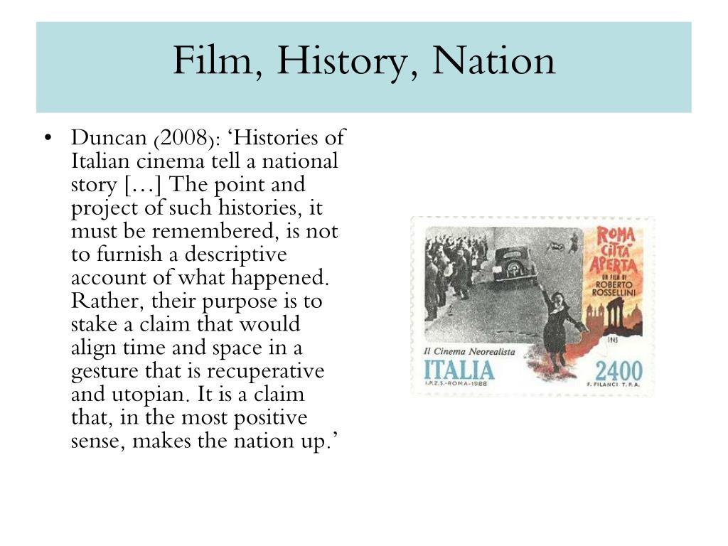 Film, History, Nation