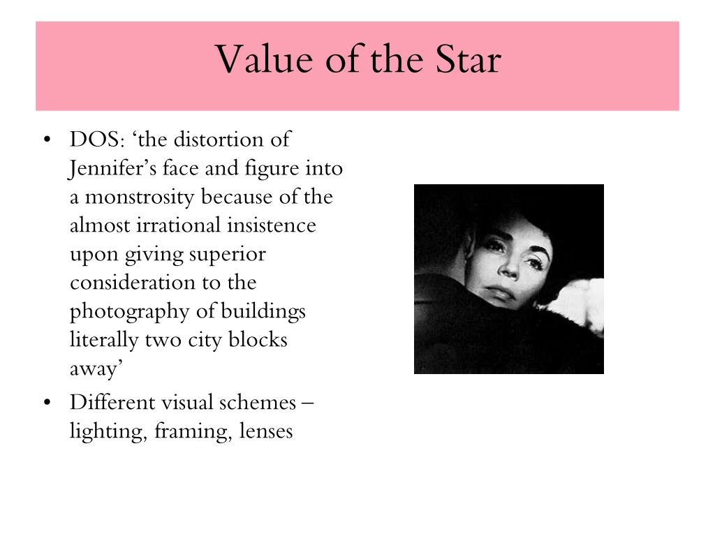 Value of the Star