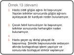 rnek 13 devam