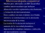microvasculopat a conjuntival