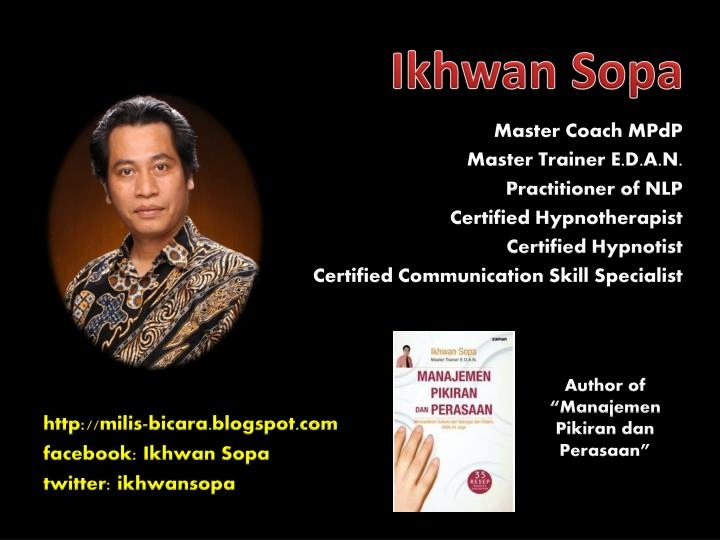 PPT - Master Coach MPdP M aster Trainer E.D.A.N ...
