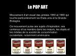 le pop art1