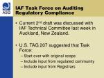iaf task force on auditing regulatory compliance2