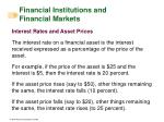 financial institutions and financial markets9