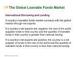 the global loanable funds market2