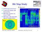 hit map study