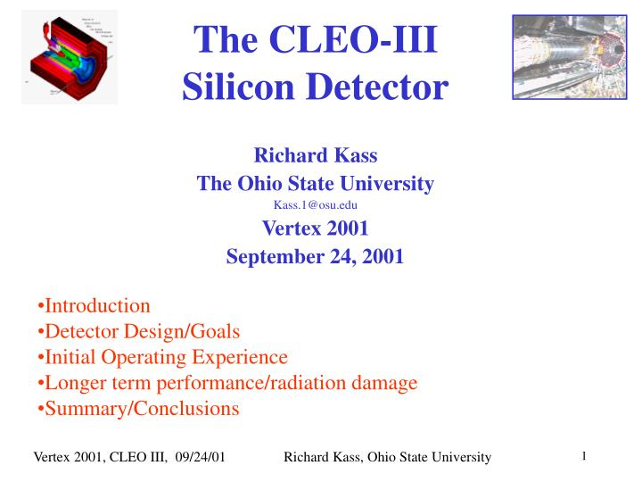 the cleo iii silicon detector n.