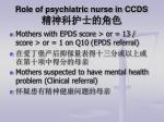 role of psychiatric nurse in ccds1