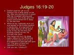 judges 16 19 20