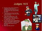 judges 16 5