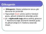 glikogenin