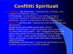 conflitti spirituali