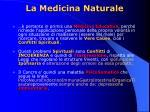 la medicina naturale