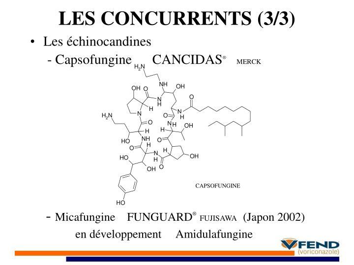 LES CONCURRENTS (3/3)