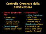 controllo ormonale della calcificazione