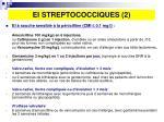 ei streptococciques 2