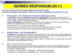 germes responsables 1