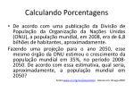 calculando porcentagens