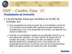 niif cambio n m 151