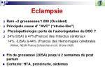 eclampsie