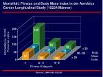 mortalit t fitness und body mass index in der aerobics center longitudinal study 10224 m nner
