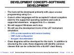 development concept software development
