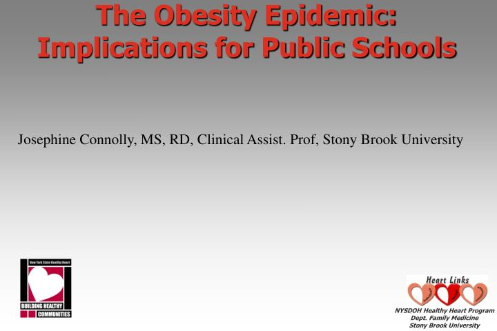 obesity a sociological epidemic