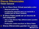 discos diferenciales visi n general