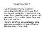 sus impactos 2