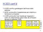 h 323 cont d