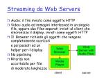 streaming da web servers