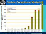 carbon compliance markets