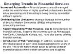 emerging trends in financial services