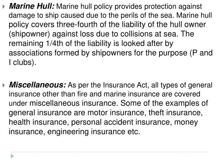 Marine Hull: