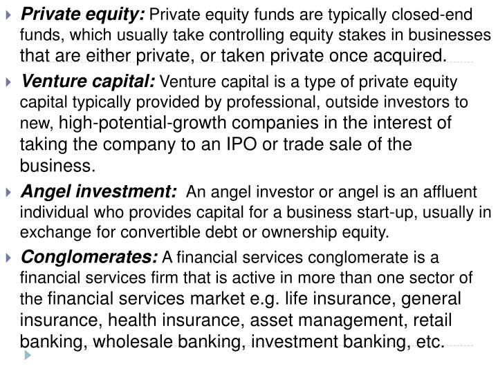 Private equity: