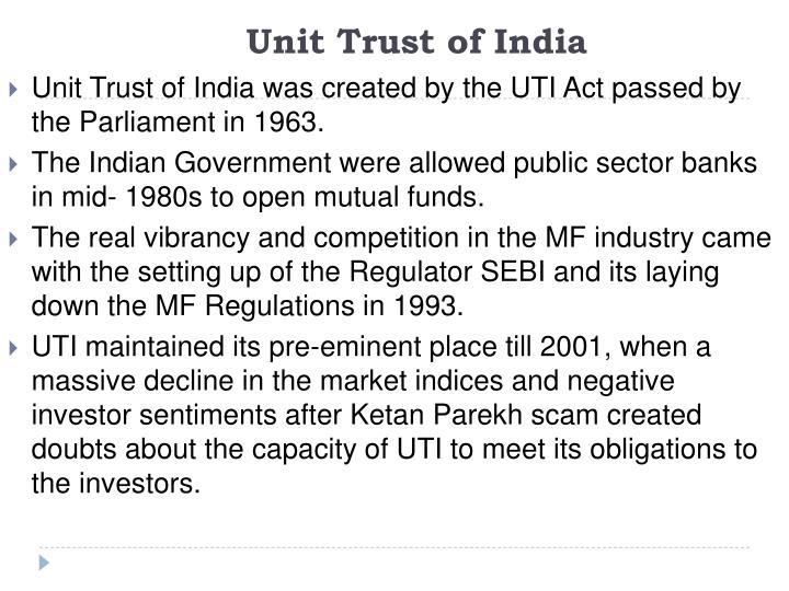 Unit Trust of India