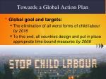 towards a global action plan